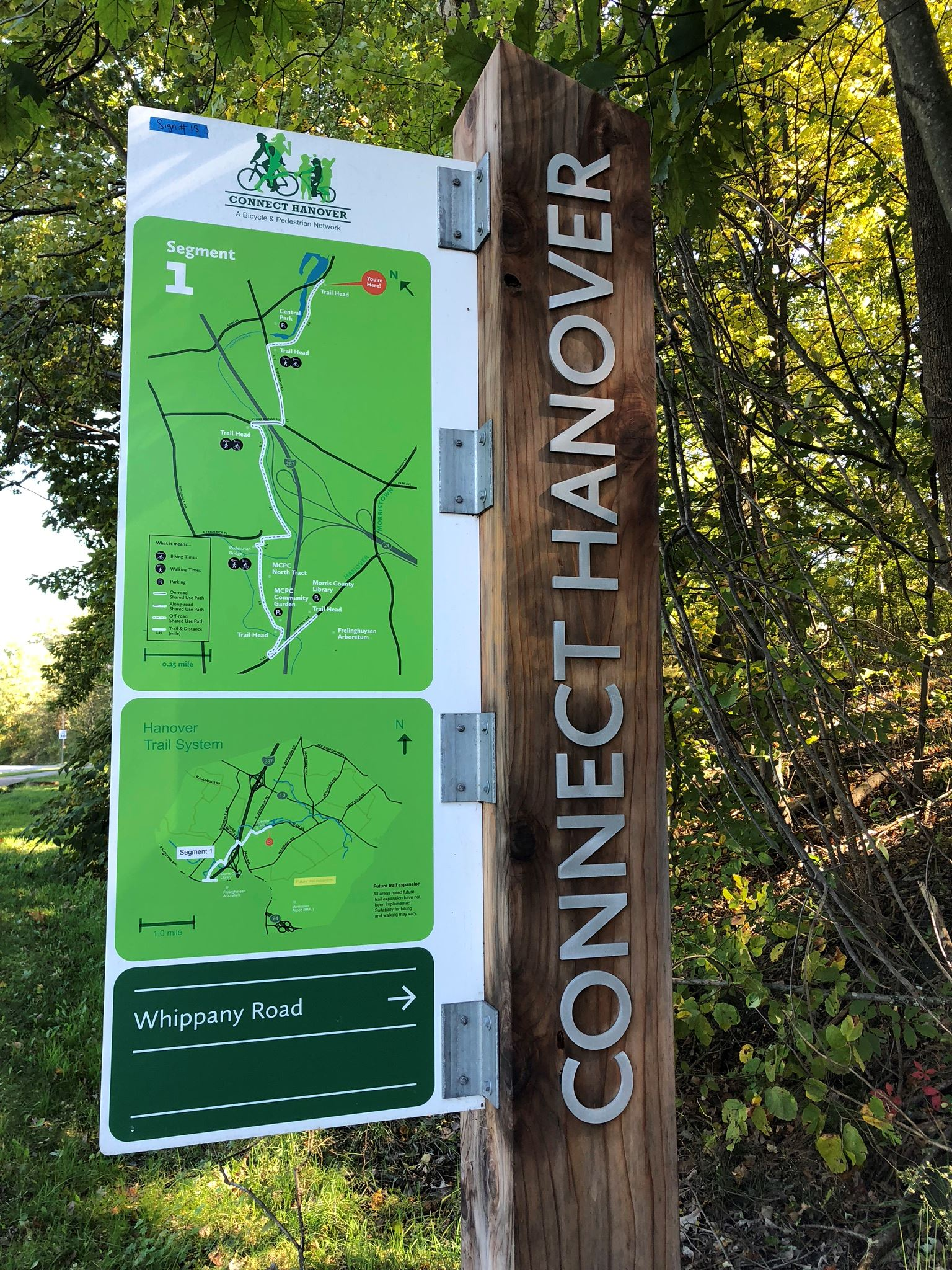 Connect Hanover Sign