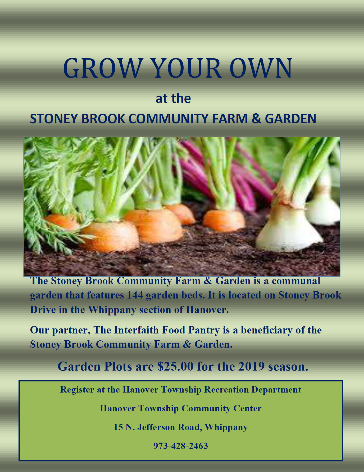Stoney Brook Community Farm & Garden 2019